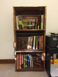 Brown, 3-shelf DIY bookcase